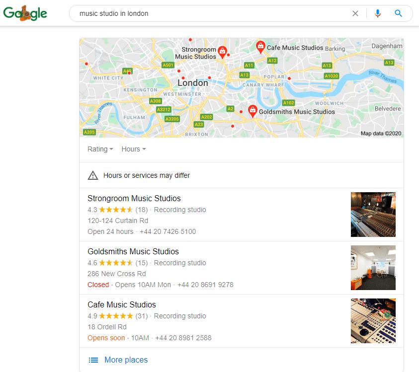 Google-map-pack