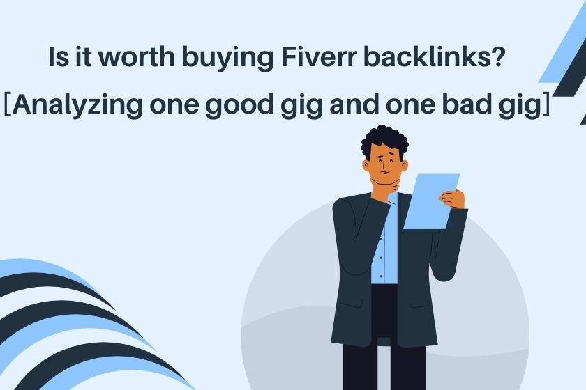 is it worth buying backlinks from fiverr