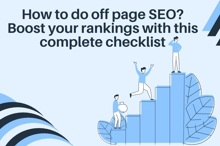 how to do off page seo
